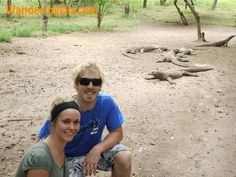 Travel Photo: Komodo Dragons On Komodo Island, Indonesia. Paying the Komodo Dragons a visit on Komodo Island, Indonesia #travel, #blog, #indonesia