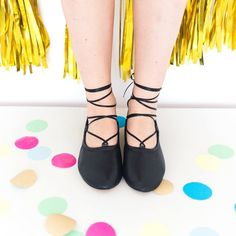 Update Your Summer Shoes for Fall With This Ballet Flats Hack   Brit + Co