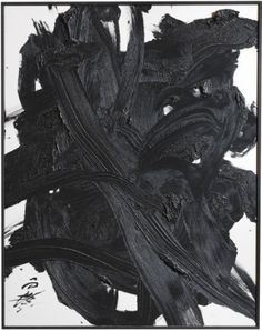 """Kazuo Shiraga...make """"paintings"""" on multiple layers of glass using a stiff medium, stack together and photograph"""