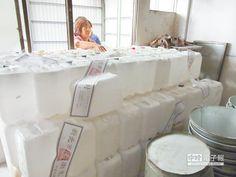 夭壽 化工石膏粉 拿來做豆花