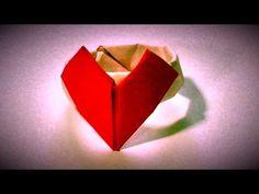 折り紙 ハートの指輪     Ring of Heart