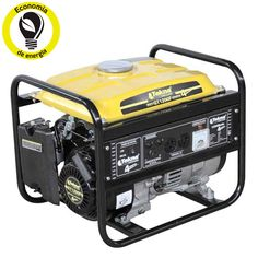 Gerador de energia á gasolina com motor 4 tempos refrigerado a ar, 2,4 hp e até 8,6 horas de autonomia - gt1200f 110v -tekna