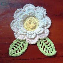 Free Crochet Flowers Book