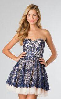 Beautiful short blue dress