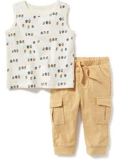 2-Piece Tank and Pants Set for Baby