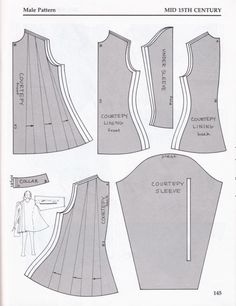 Courtrepy mens overtunIc [licensed for non-commercial use only] / Medieval