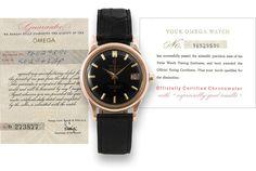 Ministry of Plenty: Omega Constellation Automatic Chronometer 1959