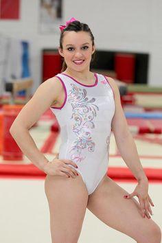 Ella es…. Ana Lago. la ternura hecha gimnasta. Cheerleading Pictures, Gymnastics Pictures, Gymnastics Girls, Gymnastics Leotards, Gymnastics Photography, Female Gymnast, Famous Girls, Hot Dress, Sport Girl