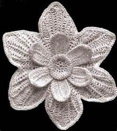 free irish crochet flower patterns Yahoo Search