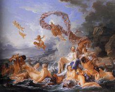 Το μπάνιο της Αφροδίτης  Φρανσουά Μπουσέ (1740)