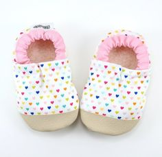 9a253ec91d4c9 Buy Now heart baby shoes pastel hearts valentines day pink... Baby Girl  Shoes