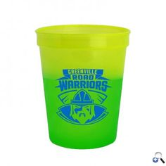 Cool 16 Oz. Color Changing Cup. Add ice cold water and watch the color change! Reusable and recyclable. BPA / BPS-Free, FDA Compliant - Safe for Food Contact. Dishwasher safe - top rack.  #tradeshow giveaways #tradeshow swag