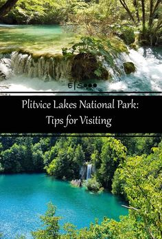 Plitvice Lakes National Park in Croatia. Travel in Europe.