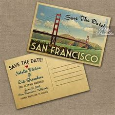 san francisco wedding invitations - - Yahoo Image Search Results