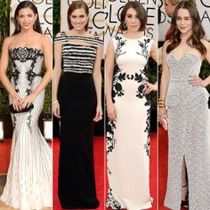 Black and White Trend on the Red Carpet