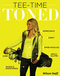 Fitness . Muscle Toning . Workout . Golf . Women . Female . Citron . Athletic . Style . Wilson Staff . Neon .