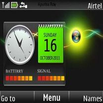 Download free Windows Neon Clock Mobile Theme Nokia mobile theme. Downloads hundreds of free C3,X2-01,Asha 200,Asha 201,Asha 302,Asha 205 themes to your mobile.