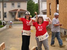 Corporate Pajamas Supporting Habitat for Humanity