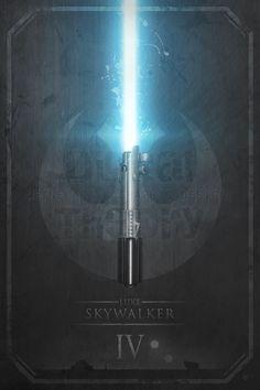 Lightsaber by Anthony Genuardi #StarWars