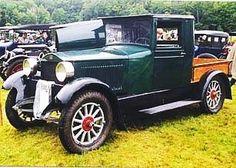 Steam-driven 1925 Stanley Model 252 pickup truck....