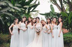 Bridesmaids in paste