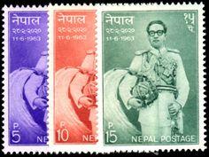 Nepal 1963 Kings Birthday , Unmounted Mint.