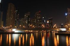 Dubai Marina by Rahul Bakshi - View from Dubai Marina Mall! Click on the image to enlarge.