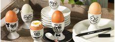 Eierbecher selber bemalen mit dem Porzellan-Pinselstift von edding  Anleitungen, Tipps und Ideen im Blog von VBS Hobby Service