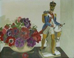 Anemones de Caen by Anna Katrina Zinkeisen (Scottish 1901-1976)