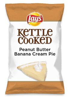 Wouldn't Peanut Butter Banana Cream Pie be yummy as a chip? Lay's Do Us A Flavor is back, and the search is on for the yummiest chip idea. Create one using your favorite flavors from around the country and you could win $1 million! https://www.dousaflavor.com See Rules.