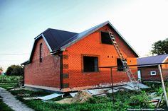 Дом из керамзитобетонных блоков в Ульяновской области. Больше фотографий со строительства смотрите по ссылке: http://skb21.ru/objects/dom-iz-keramzitobetonnykh-blokov-ulyanovskaya-oblast/