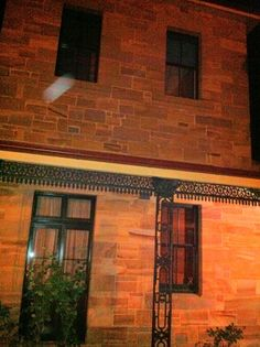 unexplained light anomaly at the old Gladesville mental asylum last night.