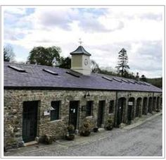Kilkenny, Ireland - Castlecomer Estate Yard: Ireland Stables from the 1700s now filled with Ireland's top crafters.