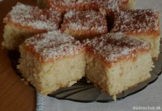 Rýchle jablkové potešenie Sweets Cake, Cornbread, Banana Bread, Treats, Cooking, Ethnic Recipes, Basket, Millet Bread, Sweet Like Candy