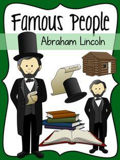 Abraham Lincoln Social Studies Clipart