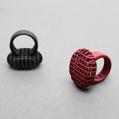 Net Ring \\ design by Selvaggia Armani