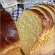 My Mind Patch: Mango Yoghurt Bread 芒果优格乳吐司