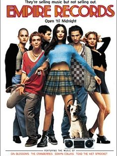 Empire Records is a very simple and sweet story about staying true to yourself and rediscovering yourself. Plus...it's funny as hell! Ethan Embry is yummy!! Amazing cast as well.