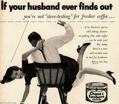 Publicidad sexista años 50/60