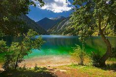 Almaty oblast beautiful landscape