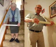StairSteady Sliding Support Handle For Stairs - Best Senior stairs mobility assistance Handicap Accessible Home, Stair Lift, Adaptive Equipment, Aging In Place, Senior Living, Staircase Design, Home Repair, Home Hacks, Cool Gadgets