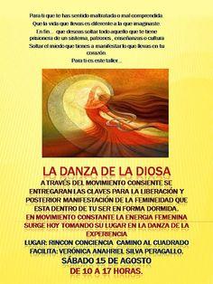 "PORTAL TERAPIAS CORDOBA: taller: ""la danza de la diosa"" sabado 15 agosto,co..."
