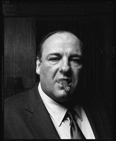 James Gandolfini as Tony Soprano loved that show! Tony Soprano, Famous Cigars, Living Puppets, Cigars And Whiskey, Look At The Stars, Fidel Castro, Famous Faces, Photos, Pictures