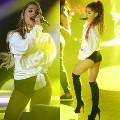 Ariana Grande Legs, Ariana Grande Fotos, Ariana Grande Outfits, Ariana Grande Pictures, Pinup Photoshoot, Photo Star, Bae, Female Singers, Woman Crush