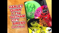 Watch me open up a comp box for Harley Quinn and the Gotham City Sirens Omnibus! Like, Share and Subscribe to my YouTube channel! https://youtu.be/MF8wiBq44HE
