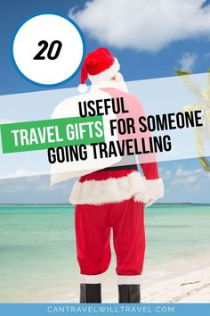 Looking for the perfect travel gift for someone going travelling? Check out our personal favourite travel items. #TravelGifts #GiftsForTravelers #XmasGifts #ChristmasGifts #TravelGear #UsefulTravelItems #CanTravelWillTravel Travel Items, Travel Gadgets, Travel Products, Travel Hacks, Travel Advice, Travel Goals, Travel Guide, Best Travel Gifts, Traveling With Baby