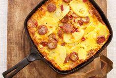 Portuguese Sausage Frittata Recipe   Leite's Culinaria