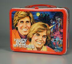 Hardy Boys Mysteries lunch box