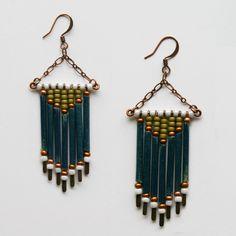Inspiration for  Pretty earrings by littleocean on etsy