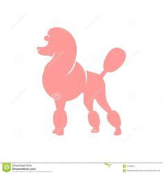 silhouette de poodle - Recherche Google